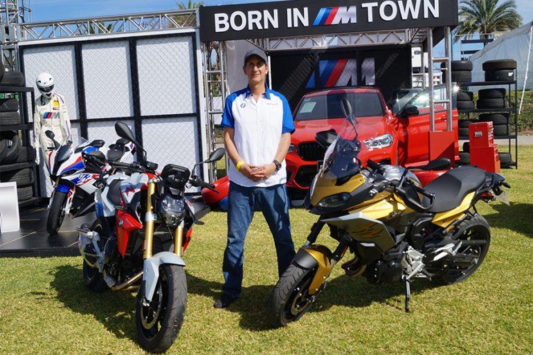 En entrevista, Michel Goudet director de BMW Motorrad para México e importadores de América Latina en BMW Group