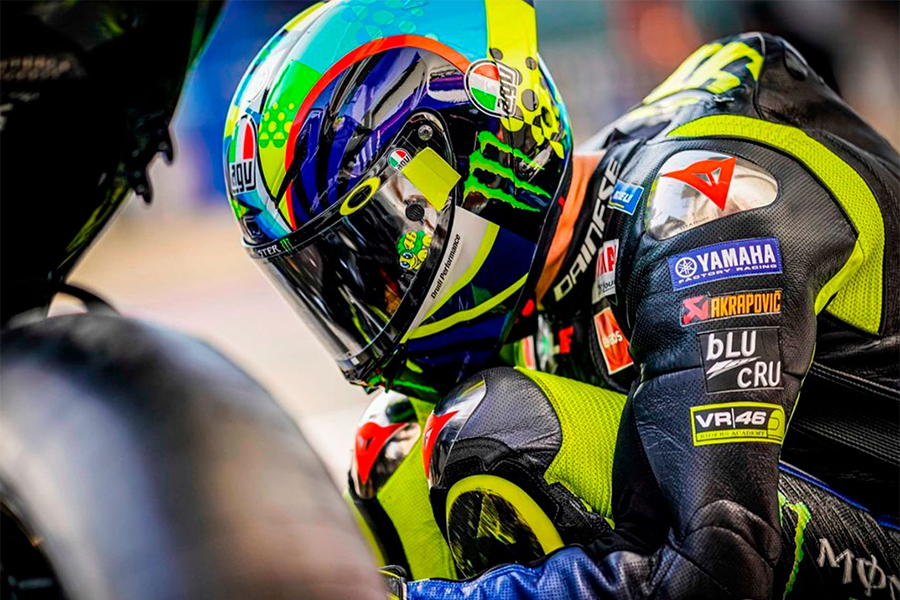 Qatar Test 2020 de Moto GP. Valentino Rossi Fotografía: Facebook Valentino Rossi