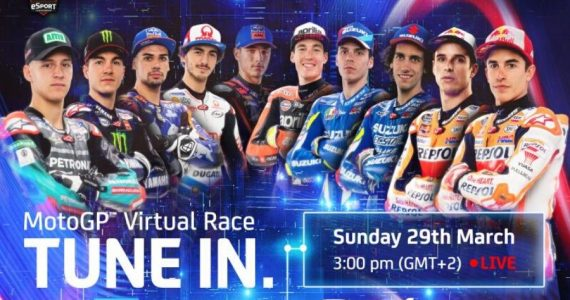 Carrera Virtual de MotoGP