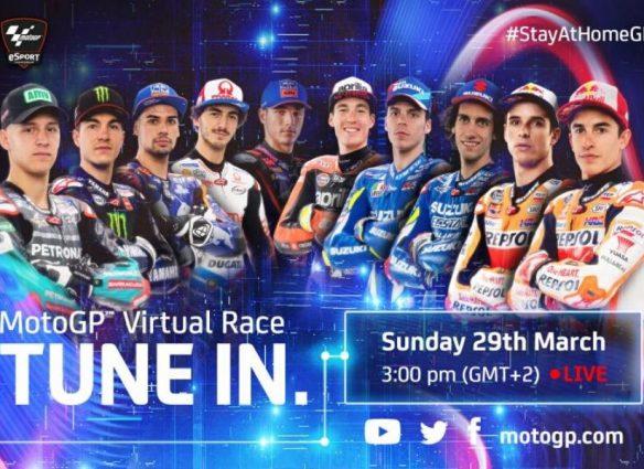 Carrera Virtual de MotoGP
