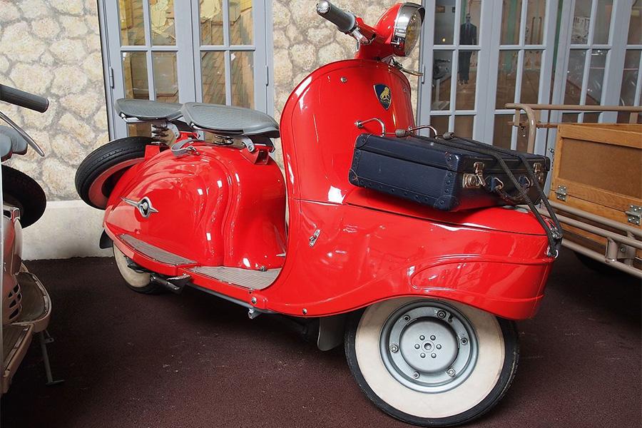 Django de Peugeot Motocycles. Fotografía cortesía de la marca