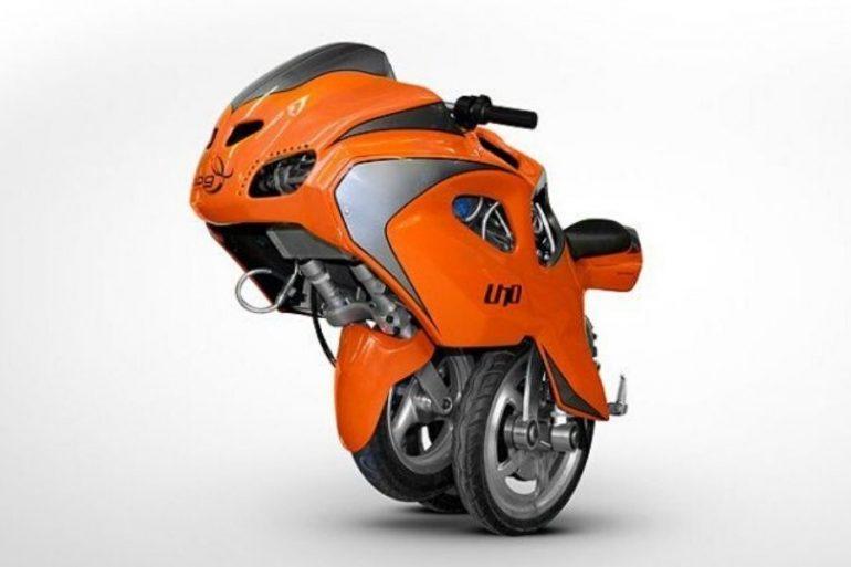 La 5 motos más extrañas del mundo. Fotografía: BPG Motors
