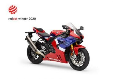 CBR1000RR-R FIREBLADE obtiene premio de diseño