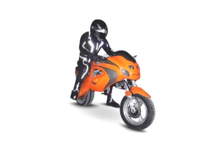 La 5 motos más extrañas del mundo Fotografía: BPG Motors