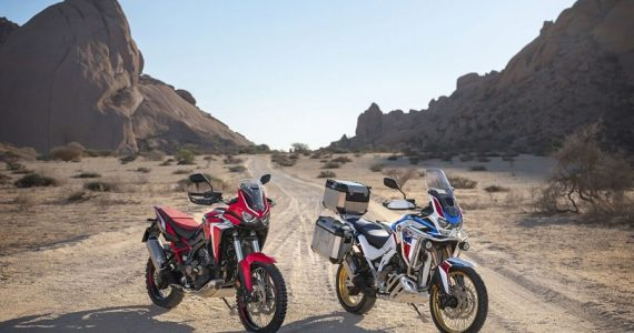 Honda Africa Twin y Africa Twin Adventure Sports 2020 CRF1100L