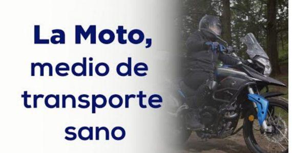 La moto, el vehículo más recomendado